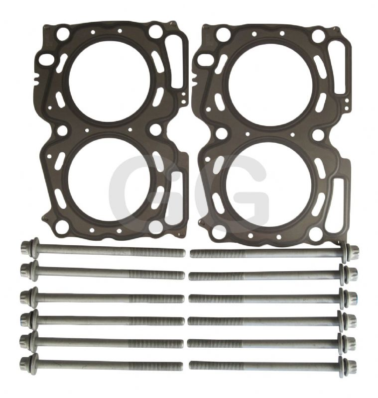 Impreza Turbo WRX STi Head Gasket Pair 0.6mm & Head Bolts Genuine Subaru GGS799.384
